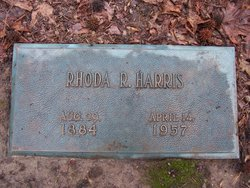 Rhoda R Harris