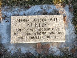 Aloha Sutton Hill Nunley