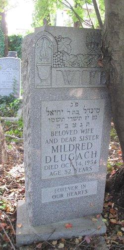 """Minnie """"Mildred"""" <I>Walzter</I> Dlugach"""