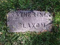 Katherine Blaxom
