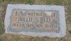 Dollie <I>Glover</I> Lee