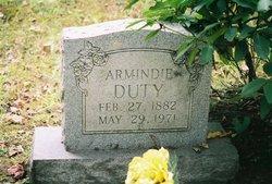 "Arminda ""Mindie"" <I>Brown</I> Duty"