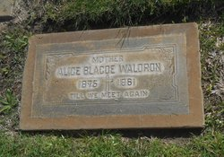 Alice <I>Blacoe</I> Waldron