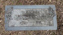 Jennie Gertrude <I>Orr</I> Shelp