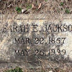 Sarah E Jackson