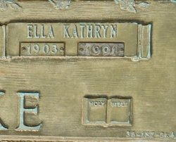 Ella Kathryn Clarke