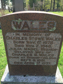 Julia Mabel <I>Bishop</I> Wales