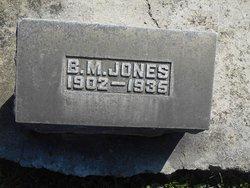 B. M. Jones