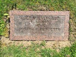 Alice M <I>Greffield</I> Paquette