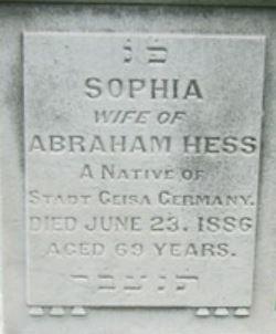 Sophia Hess