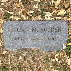 Lillian M <I>Ruff</I> Holden