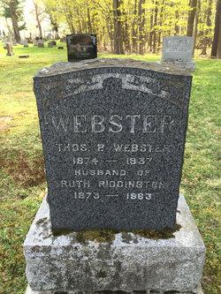 Ruth <I>Riddington</I> Webster