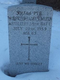 PVT Wilfred James Mizen