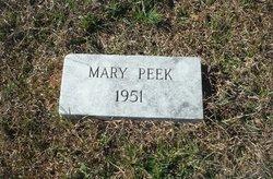 Mary Peek
