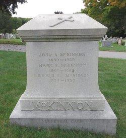 Winifred E McKinnon