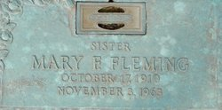 Mary F. Fleming