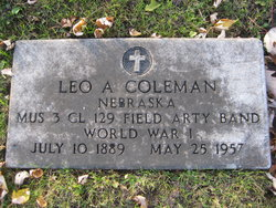 Leo A Coleman