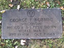 George T Robbins