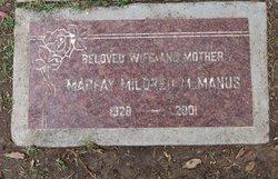 Marfay Mildred <I>Heien</I> McManus