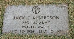 Jack E Albertson