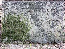 Silas Agibb Thompson