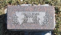 Evelyn Marie <I>Holmberg</I> Swanson
