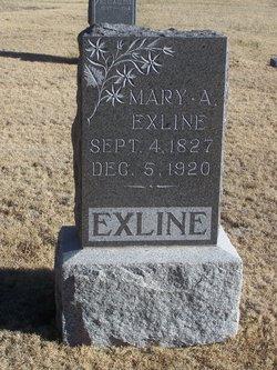 Mary Ann <I>Levering</I> Exline