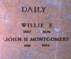 Willie <I>Spencer</I> Daily