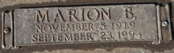 Marion B. Arman
