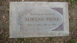 Helen Lorene <I>Collins</I> Tune