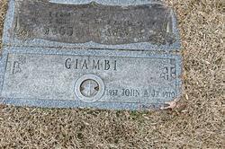 John A Giambi, Jr.