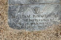 PFC William P Morrison