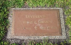 Rev Henry C Abram