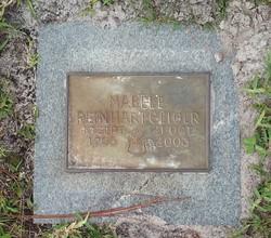 Mabel Elizabeth <I>Geiger</I> Reinhart