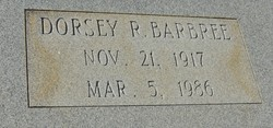 Dorsey R Barbree
