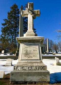 Rev Frederick G. Clark