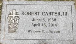 Robert Carter, III