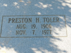 Preston H Toler