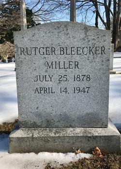 Rutger Bleecker Miller