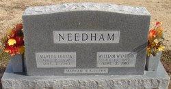 Martha Louiza <I>Riggs</I> Needham