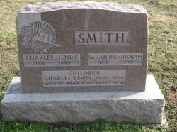 Sarah Bobbitt <I>Chrisman</I> Smith