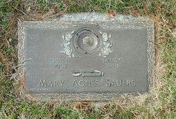 """Mary Agnes """"Agnes"""" <I>Horner</I> Sauers"""