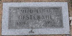 Mildred E. Ofstedahl