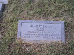 Barrett Lamar Walker