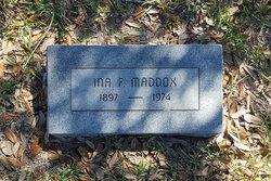 Ina Bell <I>Fenner</I> Maddox
