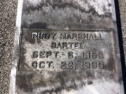 Ruby <I>Marshall</I> Bartee