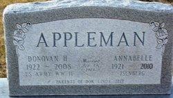 AnnaBelle <I>Isenberg</I> Appleman