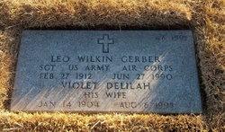 "Violet Delilah ""Vi"" <I>Gray</I> Gerber"