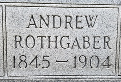 """Andrew """"Andy"""" Rothgaber"""
