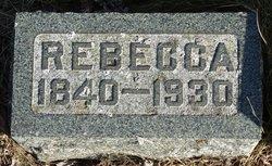 Rebecca <I>Akers</I> Rensberger